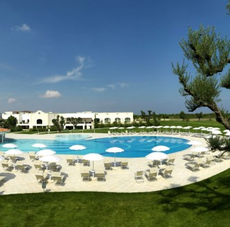Time4Golf Italië Milaan Double Tree by Hilton Acaya Golf Resort Lecce