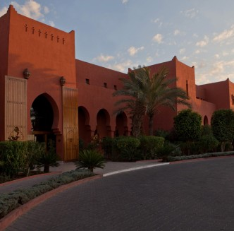 Time4Golf Marokko Marrakech Kenzi Menara Palace Marrakech